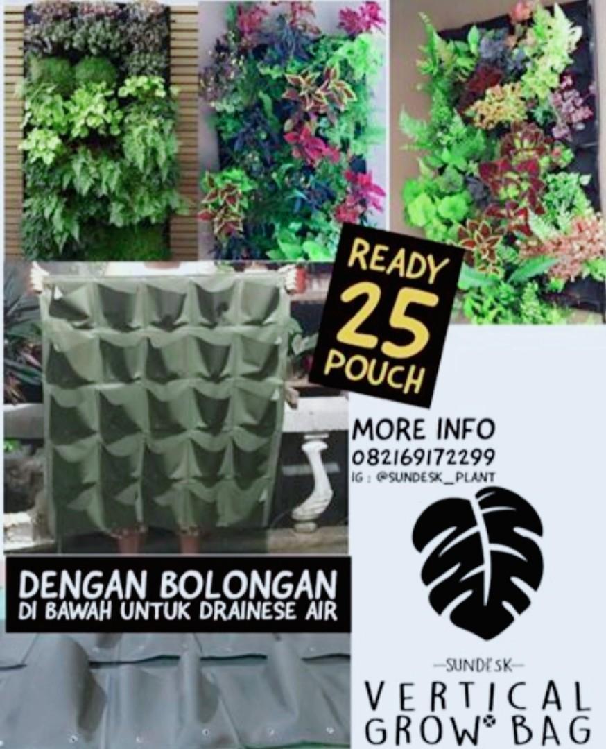 #awalbulan Pot vertical garden