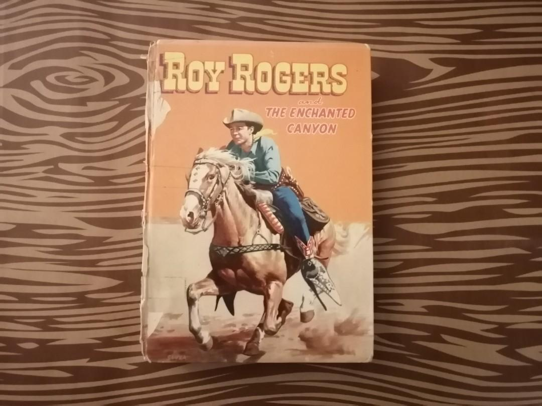 Roy Rogers Vintage Hardcover Book