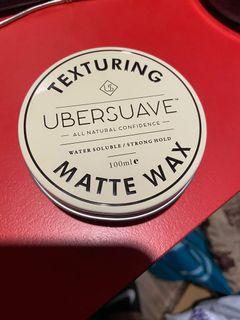 UBERSUAVE 優博士 髮蠟 強力無光澤 MATTE WAX 重塑 QUIFF
