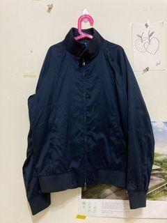 Uniqlo 海軍藍哈靈頓外套 全新