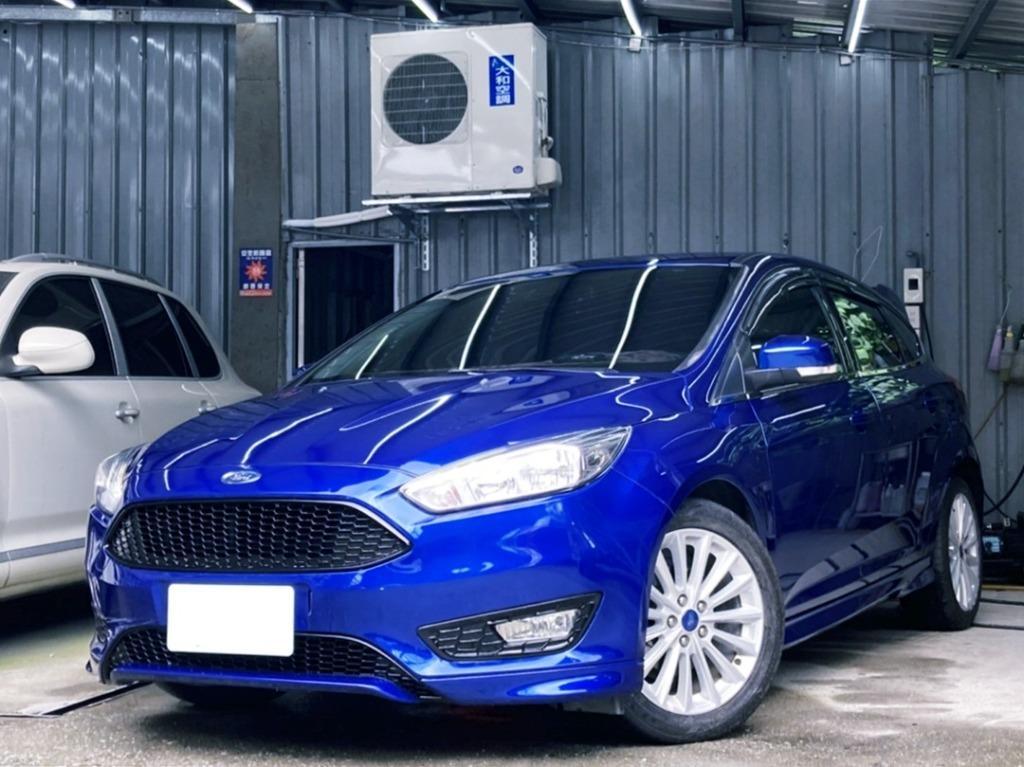 2017年 Ford Focus 1.5T 藍 夢幻里程3萬 渦輪首選 年輕人首選 熱血一拜 歡迎鑑賞