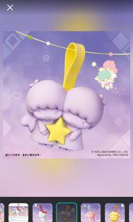 7-11 Little Twin Star TS 紫色矽膠收納袋全新未拆封想換XO