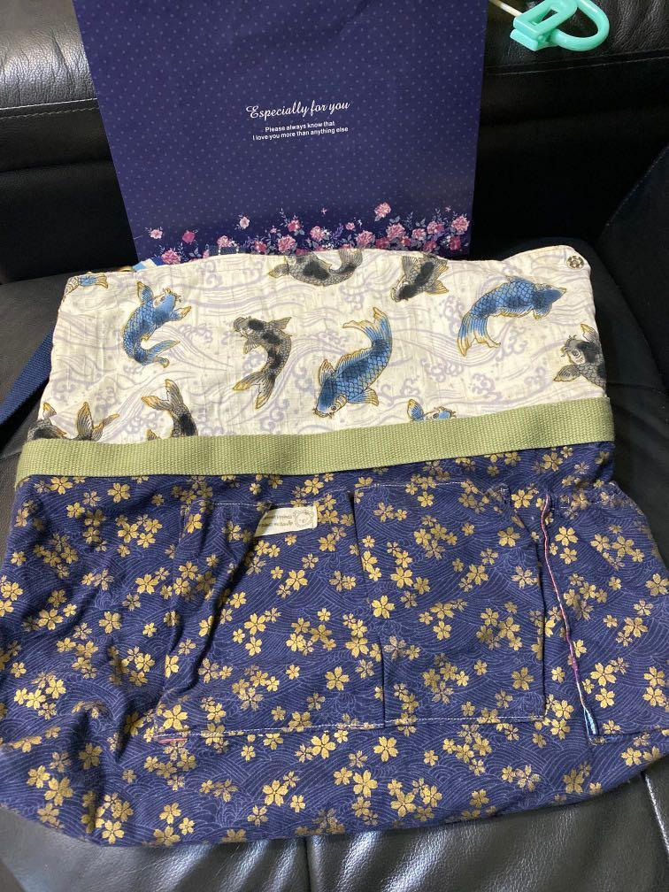 Handmade棉質手作提袋