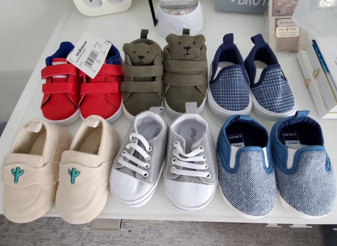 Brand new baby shoes sizes 0-12 months