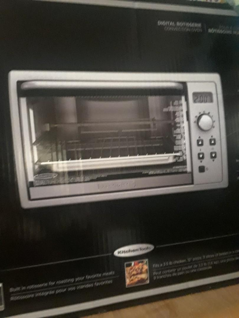 Brand new digital rotisserie convection oven