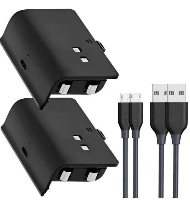 Brand new Xbox One Battery Pack, Rechargeble Battery 1200 mAh 2SET