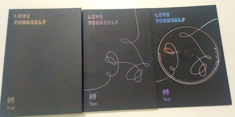 BTS Love Yourself_tear