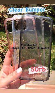 Clear Bumper Casing iPhone 11