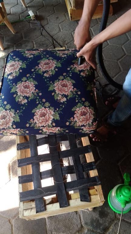 Cuci Springbed, bantal, cushion, sofa murah Jogja #awalbulan