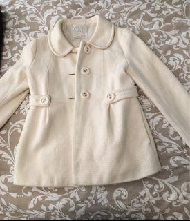 Forever 21 white trench coat