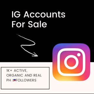 IG Accounts for Sale