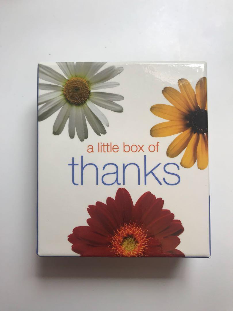 Little box of thanks