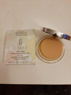 New]Stay-matte  sheer pressed Powder [Clinique]
