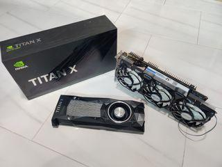 Nvidia GTX Titan X Pascal with Accelero Xtreme IV