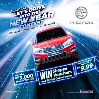Proton SAGA LAST CALL for year end sale clear stock SST exemption last call BEST offer