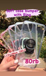 11ProMax Soft Case Bumper with Ring