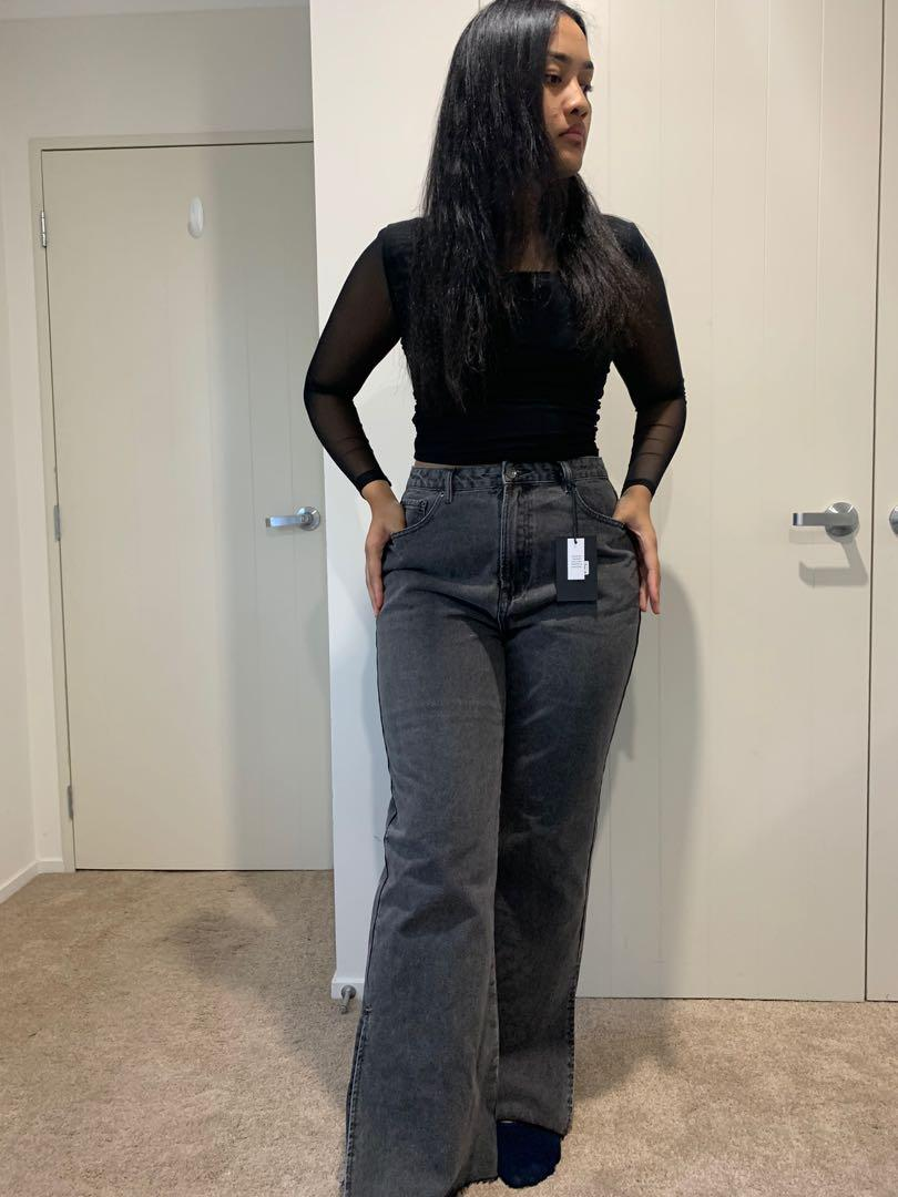 Super highrise 90's straight leg Jeans