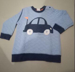 Sweater Balita Cowok H&M 9-12 Bln