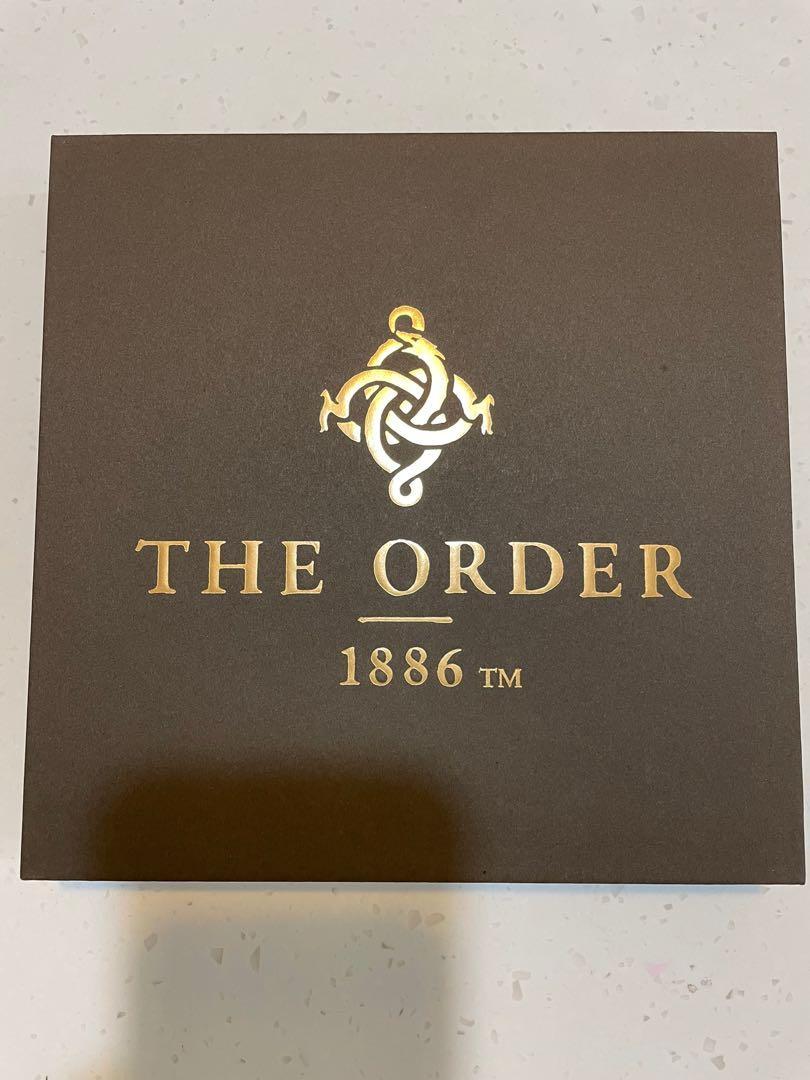 THE ORDER 1868 限量特典 皮革證件夾 行李吊牌