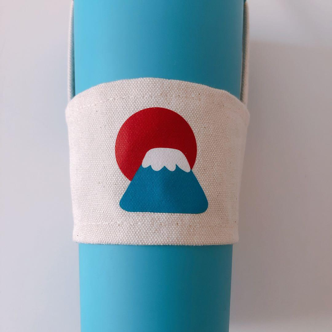 富士山環保杯袋 飲料袋