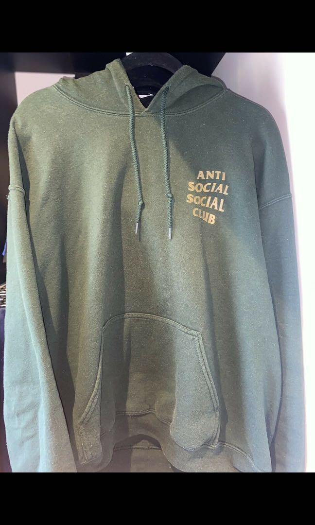 Anti Social Social Club A.S.S.C Sweater (Olive Green/Gold)