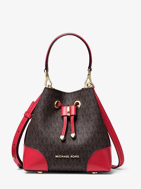 Authentic New Michael Kors Extra-Small Logo Crossbody Bag