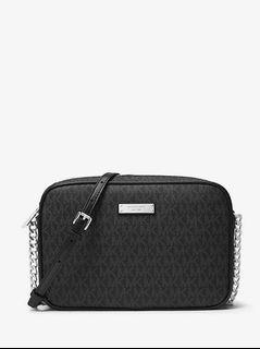 Authentic New Michael Kors Jet Set Crossbody Bag