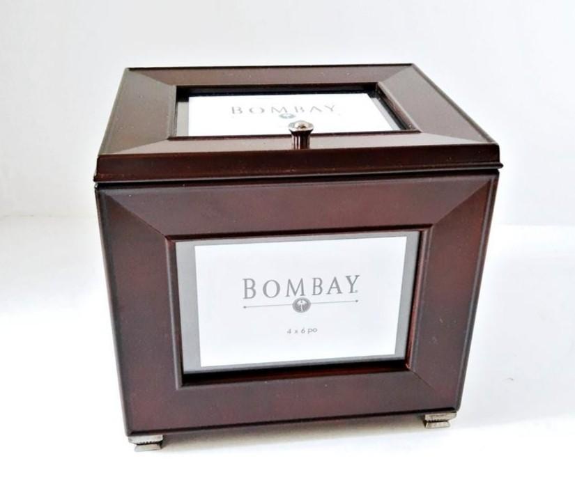 Bombay Company Photo Album Box