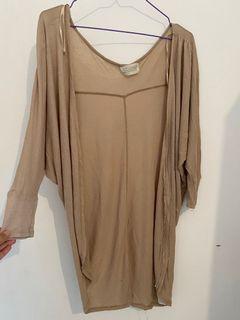 Brown Cardigan Zara