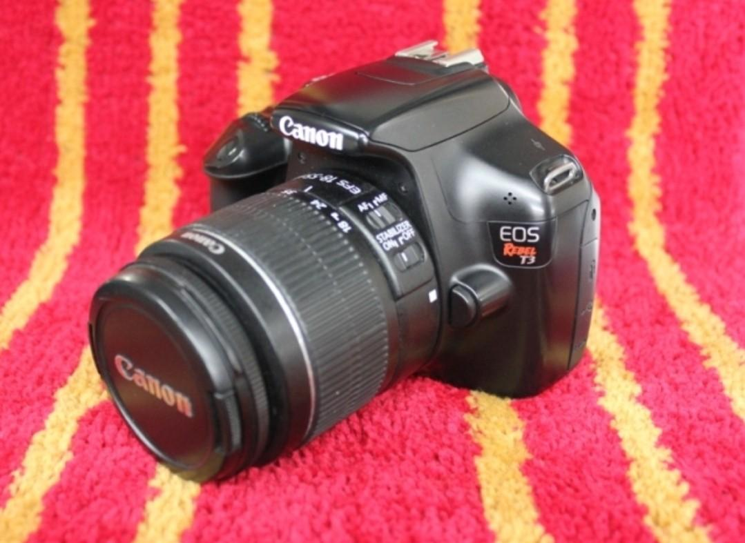 Canon Rebel T3 Hdvideo Vlog Dslr camera