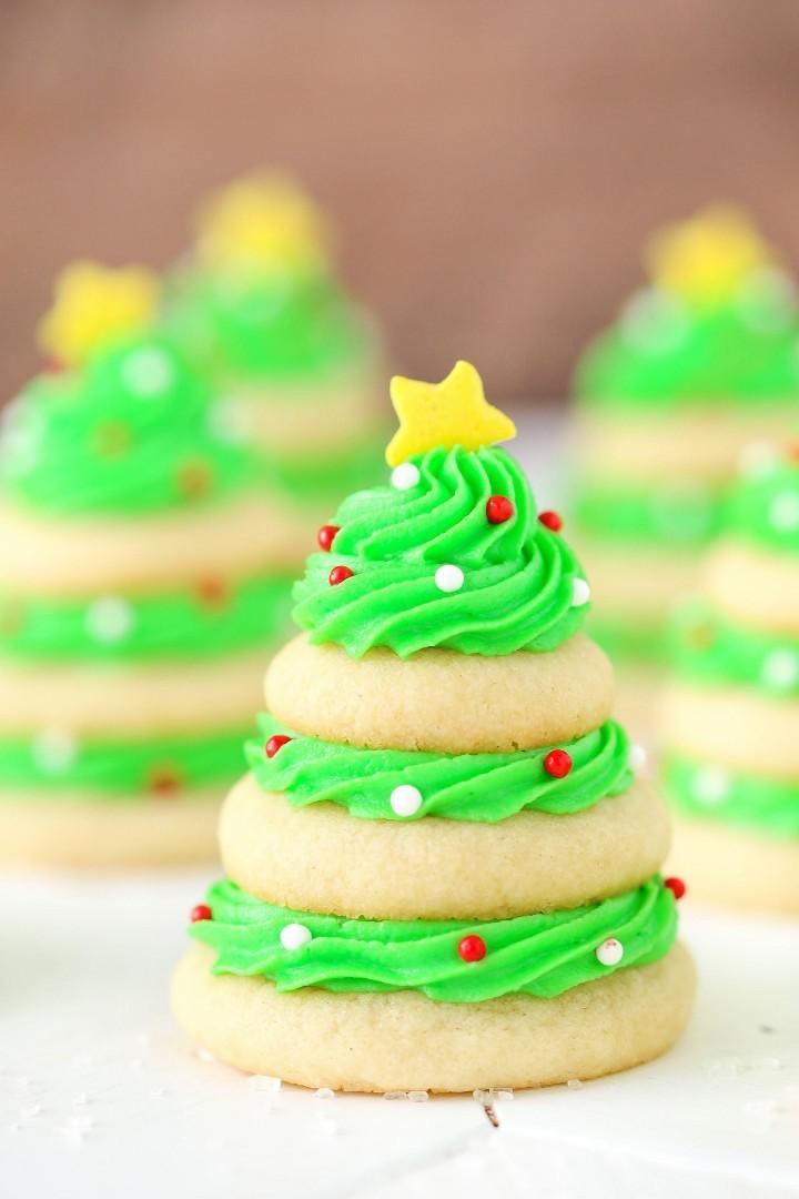 Chirthmas tree cookie.