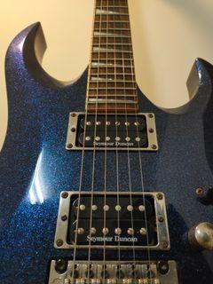 Cort X Custom 雙雙 Seymour Duncan 拾音器 電 吉他