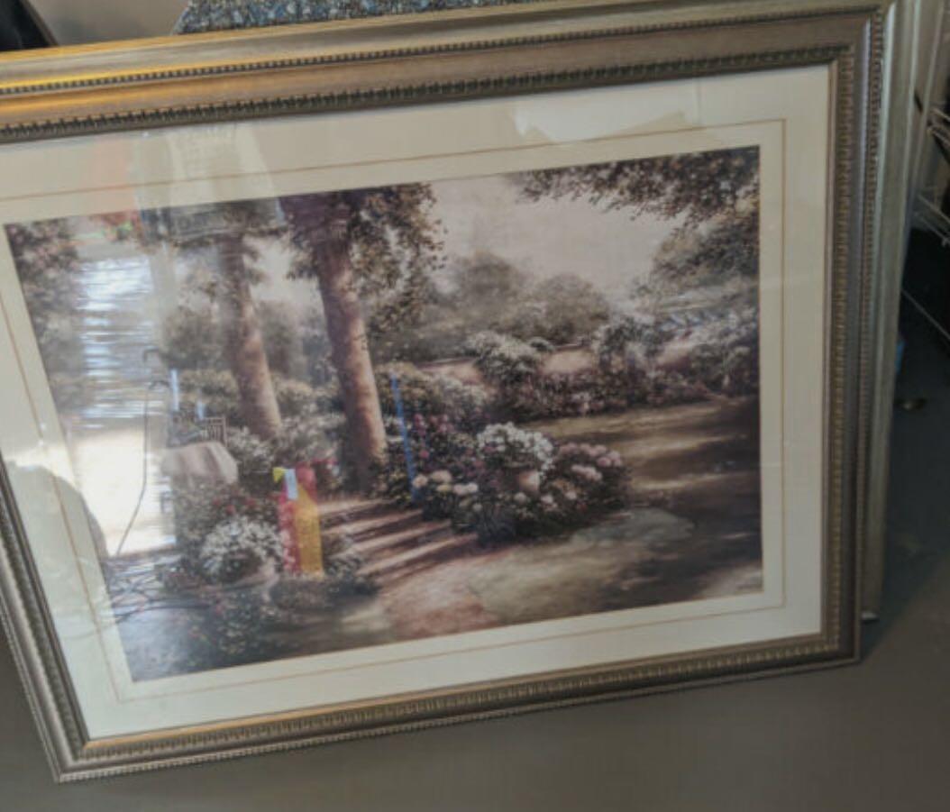 Framed Garden Wall Art
