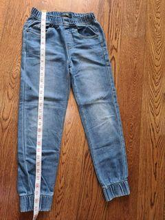 Guess Jeans with Gartered waist and ankles size 8-10