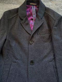 Men's Ted Baker Wool Coat