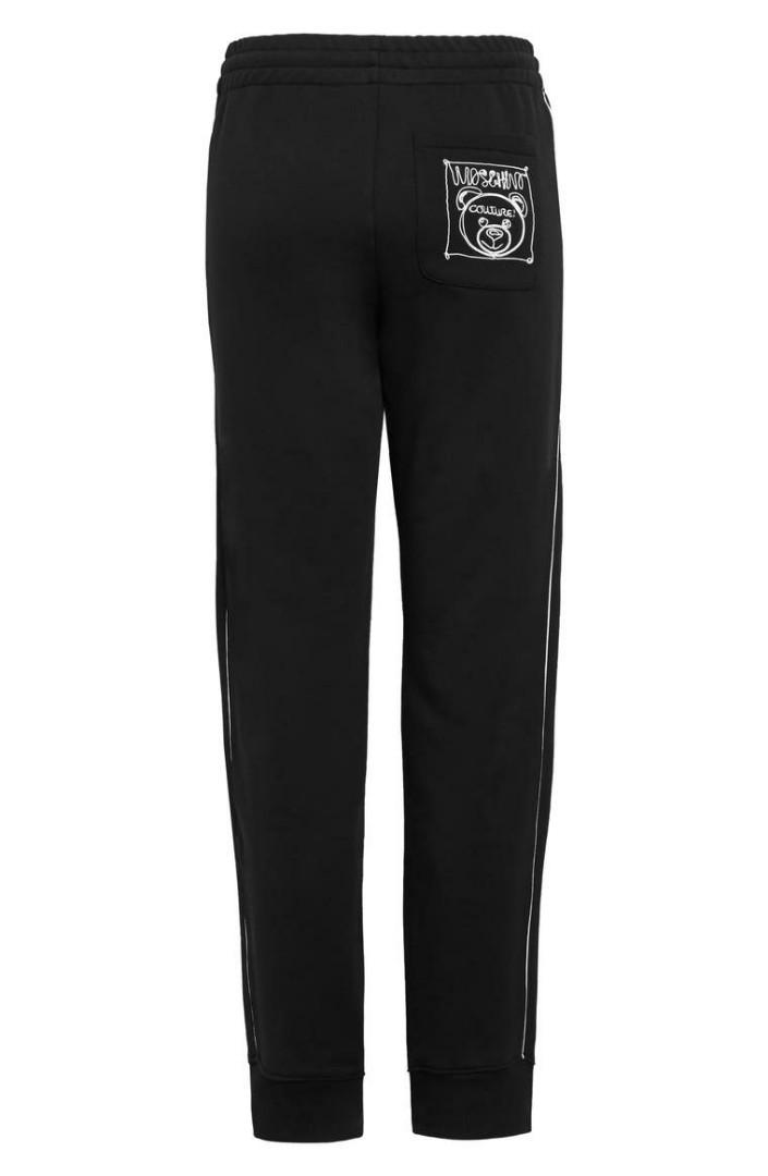 Moschino Couture Black Trackpants