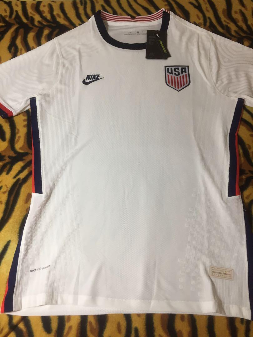 itálico cero Depresión  Nike USA Football Jersey, Sports, Athletic & Sports Clothing on Carousell