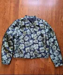 Overrun Green and Navy Blue Jacket