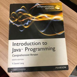 PEARSON Introduction to Java Programming 9th Edition (Y. Daniel Liang)