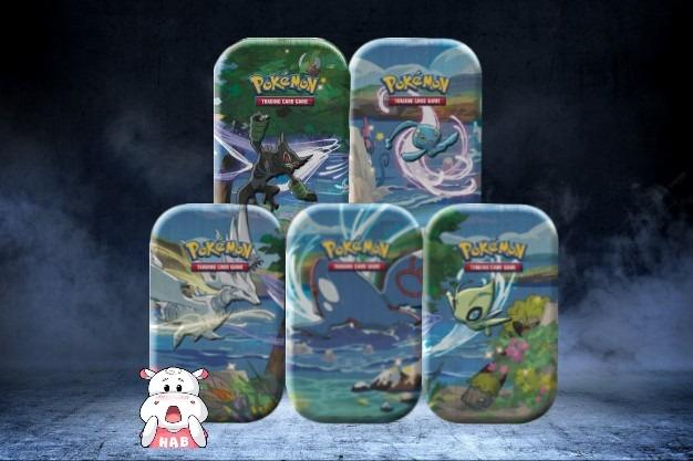 Sent on release Pokémon TCG Shining Fates Mini Tin 5 mini tin bundle!