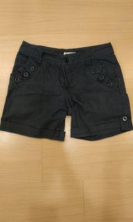 顯瘦黑色短褲(S-M)