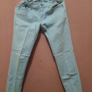 Straps Blue Jeans