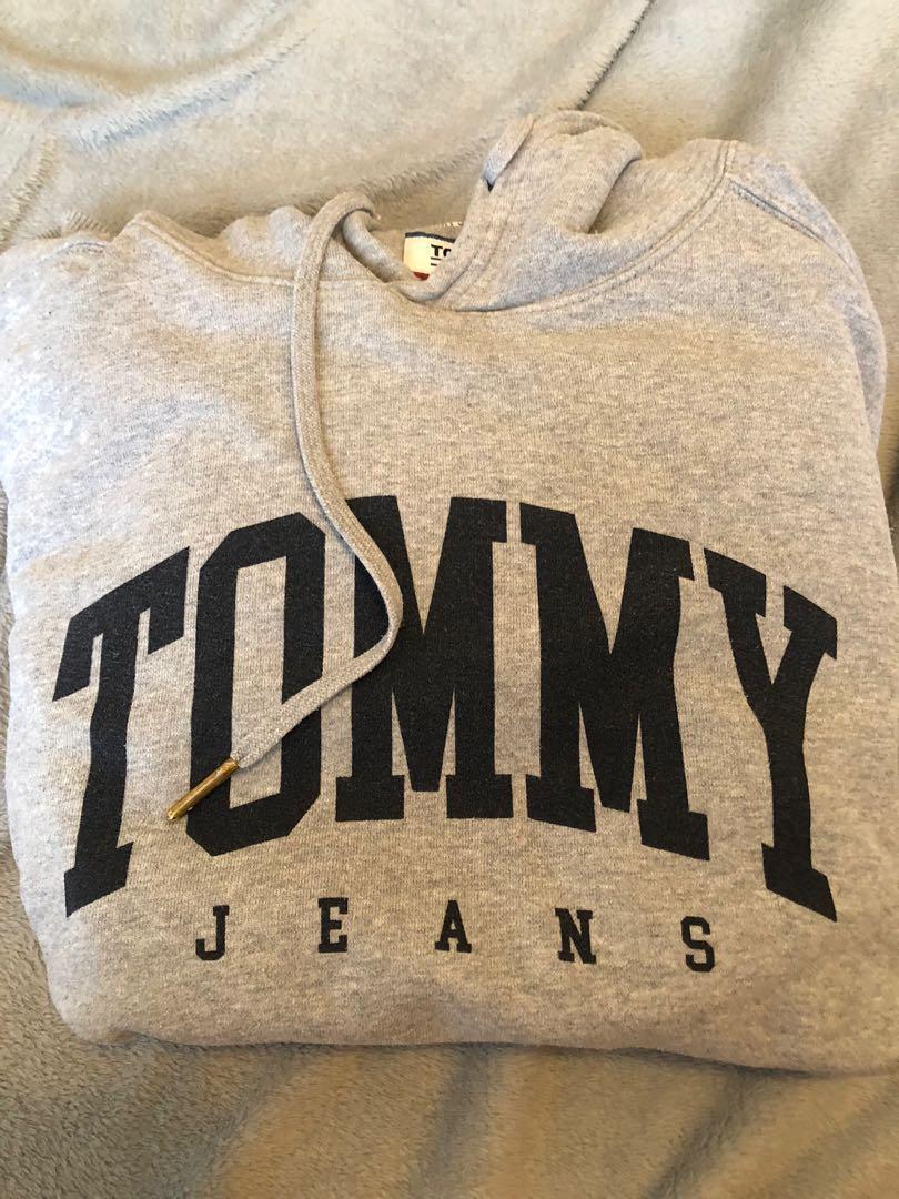 Tommy Jeans grey sweat L