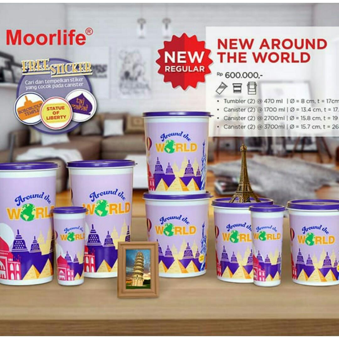 Toples dan tumbler moorlife new around the world