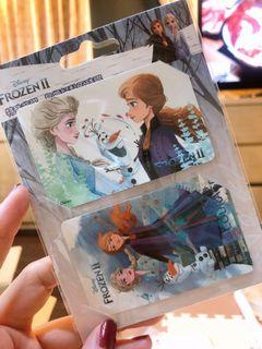冰雪奇緣票卡貼紙