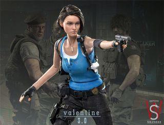 [現貨] SWTOYS 1/6 生化危機 Jill Valentine 3.0 Resident Evil FS033 Figure 可動人偶模型