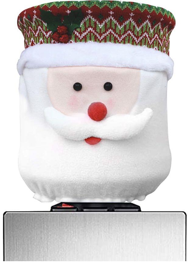 Brand new Christmas Water Dispenser Cover Santa Claus Dust Cover