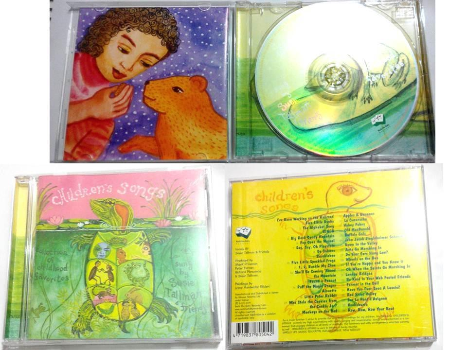 Children's Songs A Collection of Childhood Favorit 經典英文童謠 CD