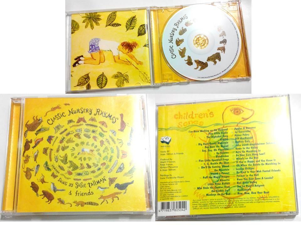 Classic Nursery Rhymes經典英文童謠CD