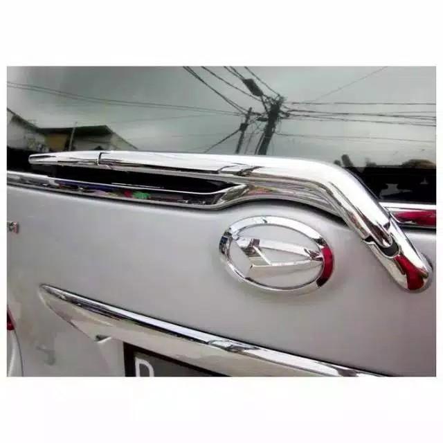 Cover wiper belakang Toyota Avanza Daihatsu Xenia Lama New 2004 2005 2006 sampai 2011 Chrome